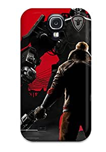 Lovers Gifts High Quality 2014 Wolfenstein The New Order Tpu Case For Galaxy S4 8300025K51615626