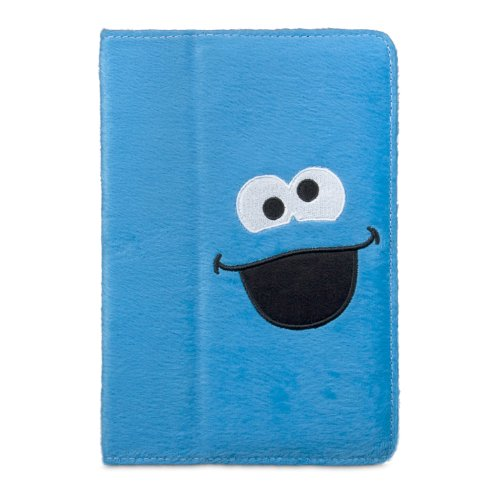 iSound Sesame Street Cookie Monster Plush Portfolio for iPad mini