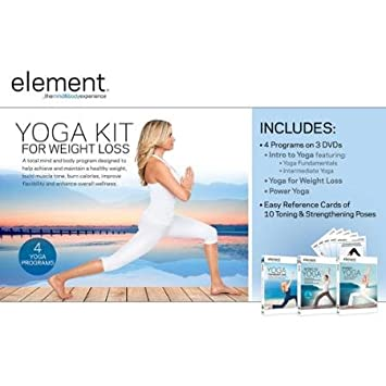 Amazon.com: Element: Yoga for Weight Loss Complete Kit ...