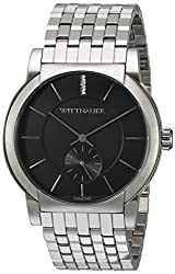 Wittnauer Men's Quartz Stainless Steel Casual Watch, Color:Silver-Toned (Model: WN3067)
