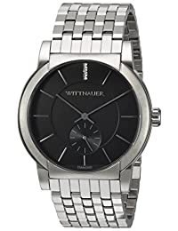 WITTNAUER Mens WN3067 Dress Black Dial Watch