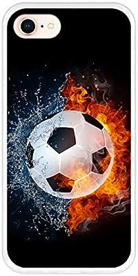Hapdey Funda Transparente para [ iPhone 7-8 ] diseño [ Fuego y ...