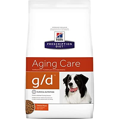 Hill's Prescription Diet g/d Aging Care Chicken Flavor Dry Dog Food 8.5 lb
