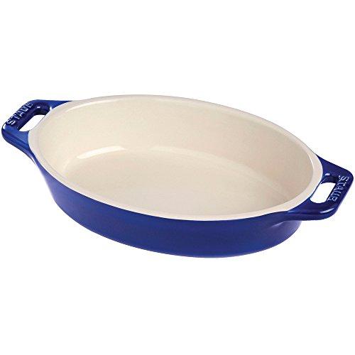 Staub 40508-611 Baking-Dishes, 14.5'', Dark Blue by Staub