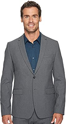 Calvin Klein Men's Slim Fit Button Notch End Bi-Stretch Infinite Jacket,