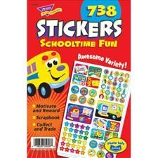 Trend School-time Fun Sticker Pad by ()