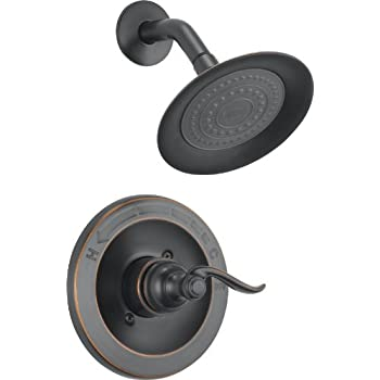 Delta Faucet BT14296 OB Windemere Monitor 14 Series Shower Trim, Oil Rubbed  Bronze