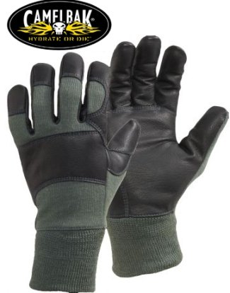 Camelbak Genuine Issue Fire Resistant MXC DFAR Combat Gloves, Sage Green (MEDIUM)