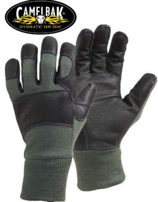 Camelbak Genuine Issue Fire Resistant MXC DFAR Combat Gloves, Sage Green (MEDIUM)