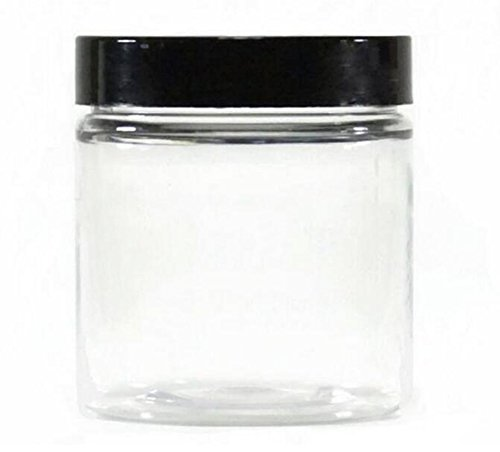 14 Ounce Spice Jar - 1PC 400ML 14oz Clear Plastic Pot Empty Cosmetic Makeup Jar Container Cases With Black Lid Cream Lotion Box Ointments Bottle Food Sample Food Kitchen Dried Fruit Tea Coffee Spices Bottle