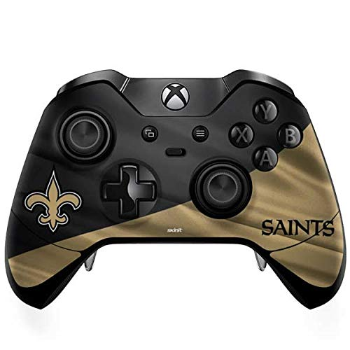 New Controller Saints Orleans (Skinit New Orleans Saints Xbox One Elite Controller Skin - Officially Licensed NFL Gaming Decal - Ultra Thin, Lightweight Vinyl Decal Protection)
