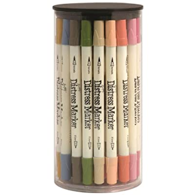 Ranger Tim Holtz Distress Marker Tube Set, 4 by 7.35-Inch, 49-Pack