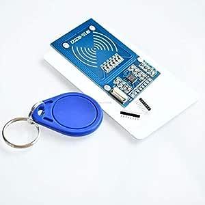 RFID وحدة RC522 أطقم S50 13.56 ميغاهيرتز 6 سم مع العلامات SPI الكتابة والقراءة