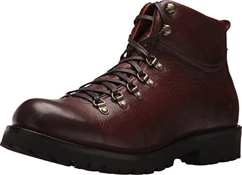 Floor Harp - FRYE Men's Earl Hiker Brown Oiled Pull Up 9.5 D US