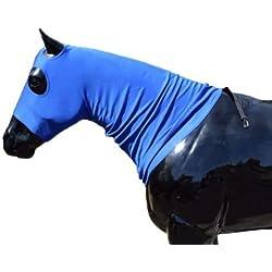 Sleazy Sleepwear for Horses Standard Large Mare Hood Black