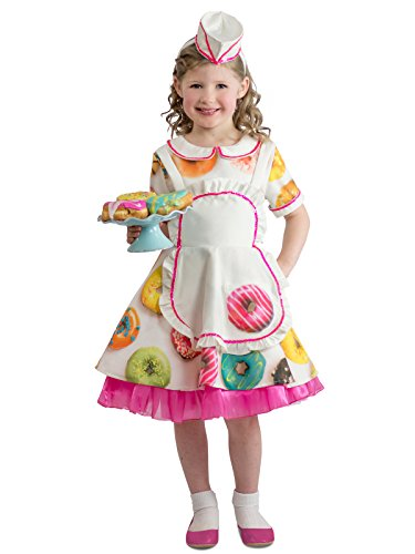 Princess Paradise Donut Waitress Child's Costume, Medium ()