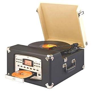 Amazon.com: Crosley CR54-CD Traveler Turntable CD: Home ...