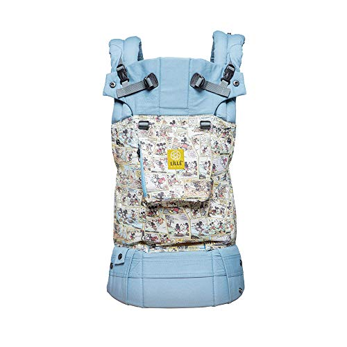 SIX-Position 360° Ergonomic Baby & Child Carrier, Disney Baby Collection by LILLEbaby, The Complete Original (Sunday Funnies)