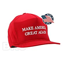 MAKE AMERICA GREAT AGAIN! - Trump 2016 Adjustable EMBROIDERED Cap with Rope Front
