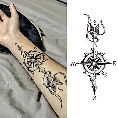 3 piezas de tatuajes temporales resistentes al agua Brachium ...