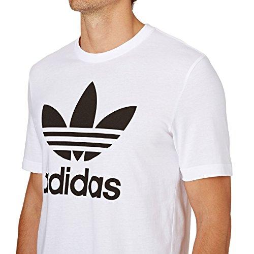 Pour T Adidas Trèfle Hommes Original Shirt Blanc Motif XIdxdr