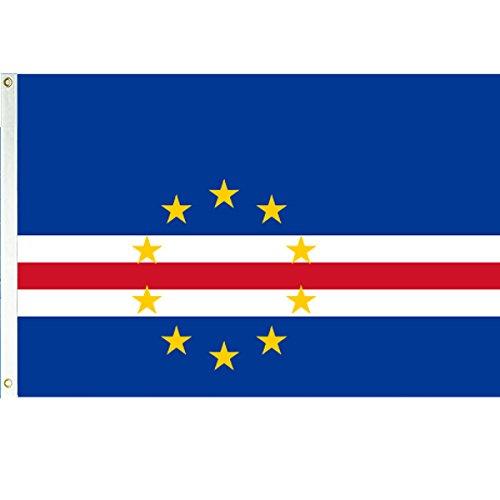 3x5 Cape Verde Flag Island Banner Pennant