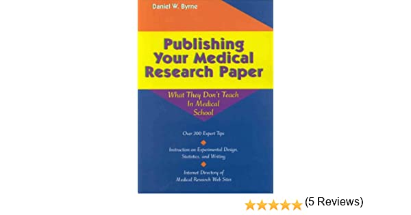 how to write element of medical research paper 2] use appropriate descriptive words: a good research paper title should contain key words used in the manuscript and should define the nature of the study think about terms people would use to search for your study and include them in your title.