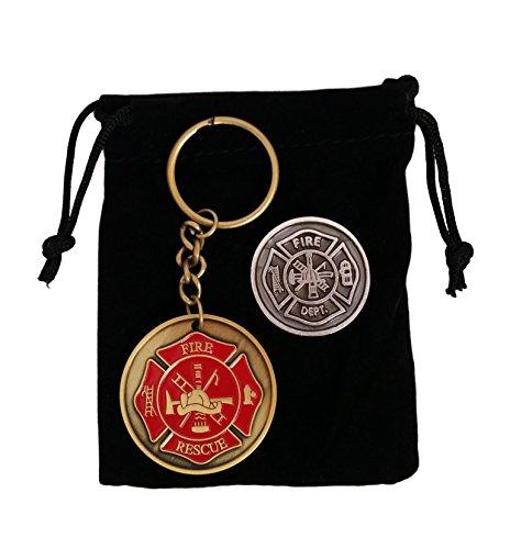 China Gifts for Firefighter - Maltese Cross Firefighter P...
