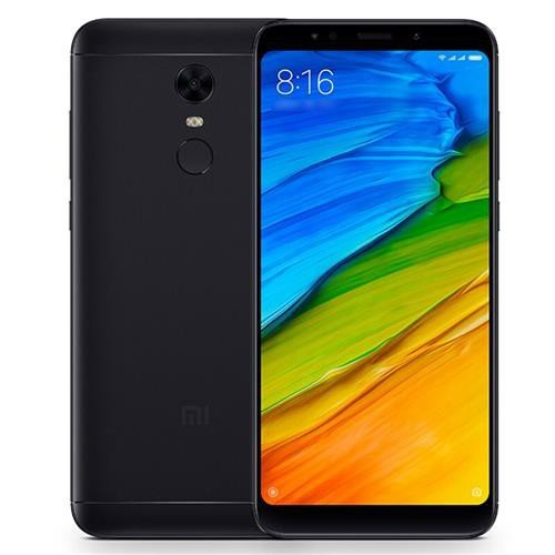 "Xiaomi Redmi 5 Plus 64GB Black, Dual Sim, 4GB RAM, 5.99"", GSM Unlocked Global Version, No Warranty"