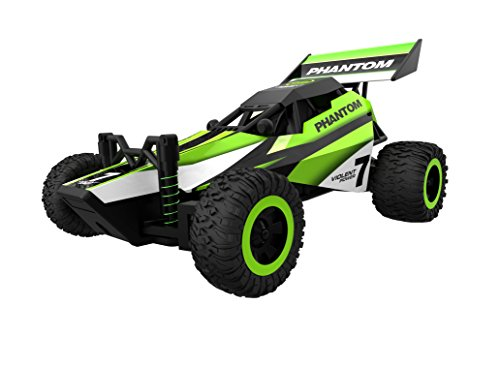 Rc Car,KingPow 1:32 Scale Mini 2WD High Speed Truck With Wireless Remote Control Vehicle Rc Car(Small Size)-Green