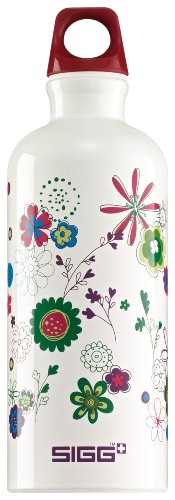 Sigg Kids Water Bottle, Blooming, 0.6 Liter