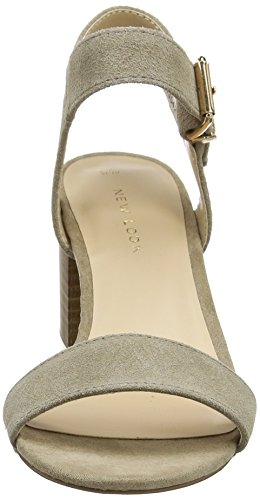 New Look Damen Paze Riemchenpumps Braun (Light Brown)