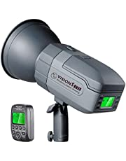 Neewer VISION5 400Ws 2.4G TTL Flash Strobe Compatible with Sony Cameras, 1/8000s HSS Monolight with Wireless Trigger,6000mAh Battery to Cover 500 Full Power Shots Recycle in 0.01-2.8 Sec