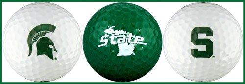 Golf Msu - Michigan State University Golf Ball Gift Set