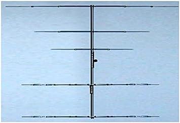 Antena yagi 5 elementos 20/15/10 m 14/21/28 MHz, Boom 6 m 8 ...