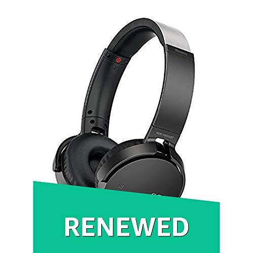 Sony MDR-XB650BT/B Extra Bass Bluetooth NFC Wireless Headphones - Black (Renewed)