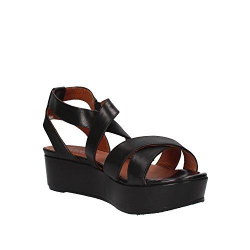 CARMENS sandali donna nero pelle AF653