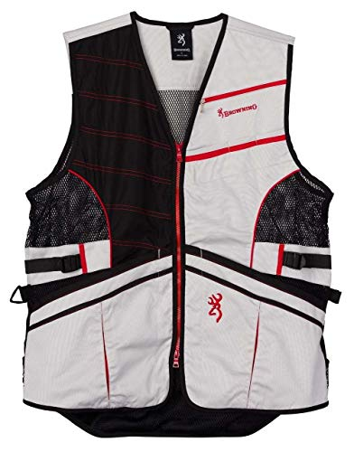 Browning Ace Shooting Vest-Red (2XL)