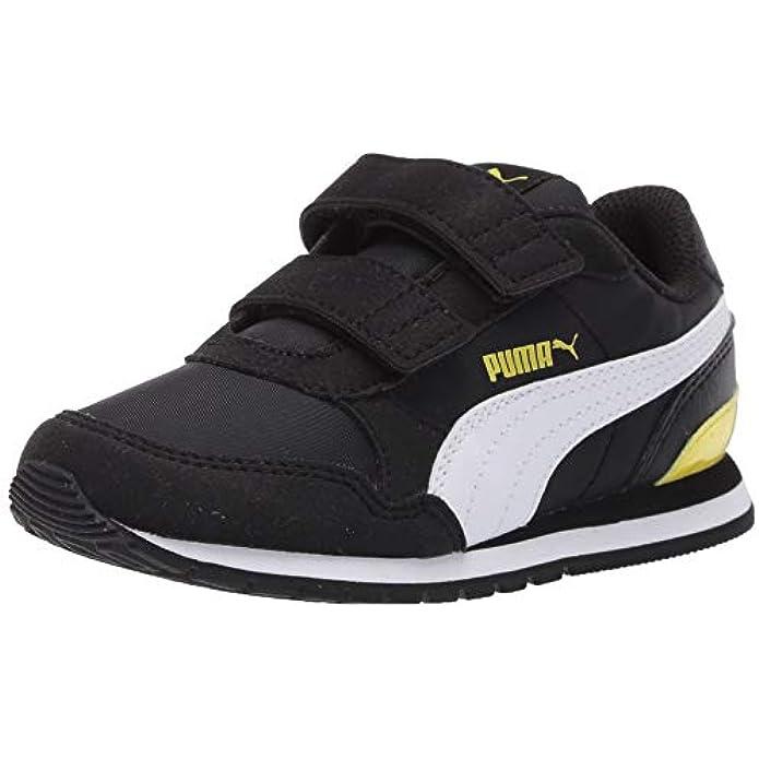 Puma Unisex-Kids St Runner NL Sneaker, Rock Ridge White, Little Kid