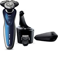 Philips Norelco Electric Shaver 8900 with SmartClean, Wet & Dry Edition S8950/90