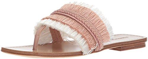 Sandal White Nude Avis Women's Sigerson Morrison Flat 8wqTIpz