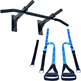 Ultimate Body Press Wall Mount Pull Up Bar & Bodyweight Resistance Trainer