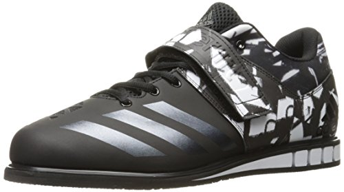 adidas Performance Men's Shoes | Powerlift.3 Cross-Trainer, Solar Red/Black/White, (9.5 M US)