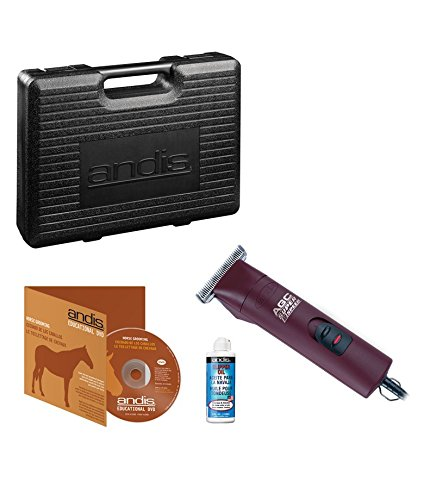 Andis 2-Speed Detachable Blade Equine & Livestock Professional Grooming, Burgundy 22330, AGC2 by Andis (Image #2)