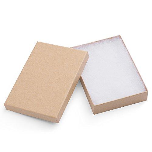 MESHA Cardboard Jewelry 5 25x3 75x1 Natural product image