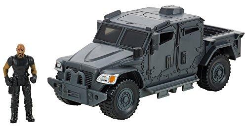 Mattel Star - Mattel Fast & Furious Stunt Stars Hobbs & Navistar MXT Vehicle