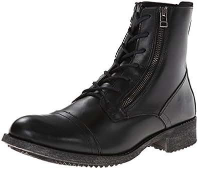 Amazon.com | Steve Madden Men's Arriza Combat Boot, Black ... Steve Madden Combat Boots Men