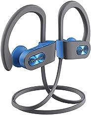 Mpow Sport Ipx7 Flame Bluetooth Fone De Ouvido Para Corrida - resistente a água impermeável 100% (Cinza com az