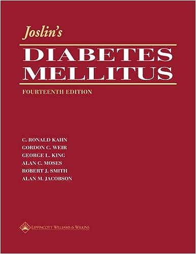 JOSLINS DIABETES MELLITUS ED/14
