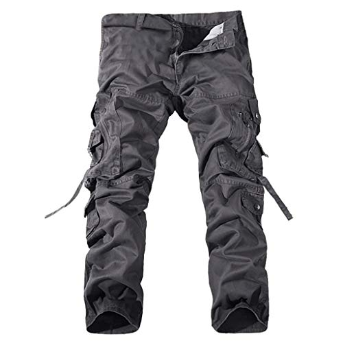 Allywit Men's Cotton Casual Military Army Cargo Camo Combat Work Pants Big and Tall by Allywit-Pants (Image #2)